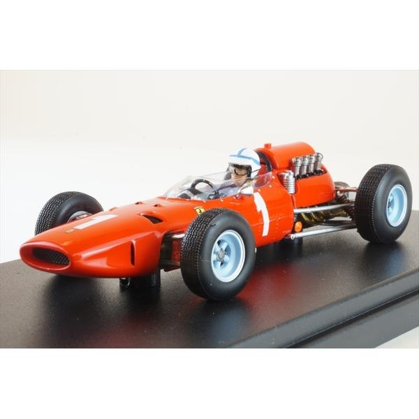 ルックスマート 1/43 フェラーリ 158 No.1 1965 F1 ベルギーGP J.サーティース 完成品ミニカー LSRC069