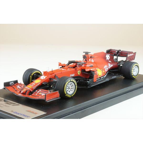 【11月予約】ルックスマート 1/43 スクーデリア フェラーリ SF21 No.16 2021 F1 イギリスGP 2位 C.ルクレール 完成品ミニカー LSF1038