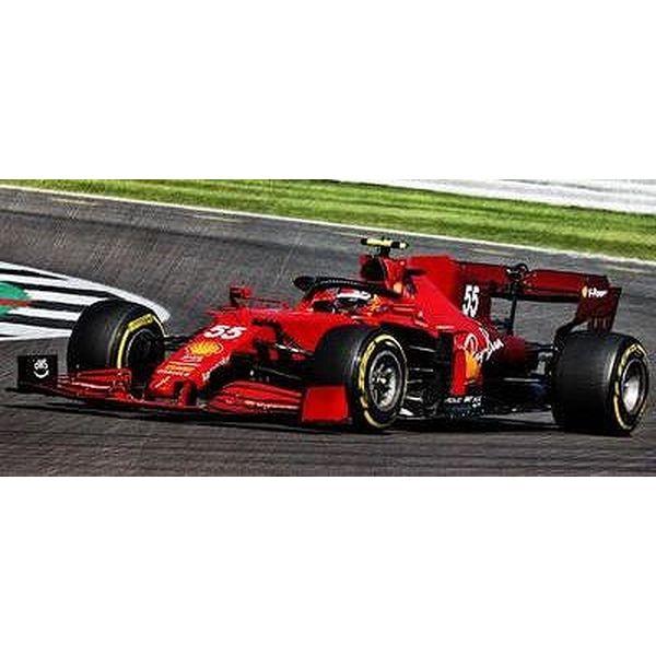 【11月予約】ルックスマート 1/43 スクーデリア フェラーリ SF21 No.55 2021 F1 イギリスGP C.サインツJr. 完成品ミニカー LSF1039