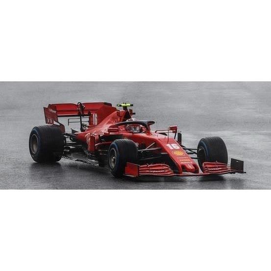 【6月予約】ルックスマート 1/18 スクーデリア フェラーリ SF1000 No.16 2020 F1 トルコGP C.ルクレール 完成品ミニカー LS18F1034