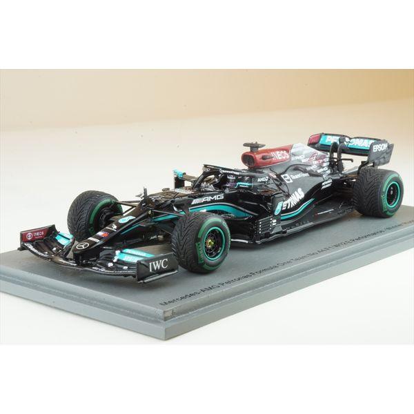 【1月予約】スパーク 1/43 メルセデス-AMG ペトロナス W12 E Performance No.44 2021 F1 ロシアGP ウィナー L.ハミルトン w/Pit Board 完成品ミニカー S7695