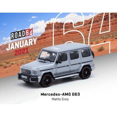 ターマックワークス 1/64 メルセデス-AMG G63 マットグレー 完成品ミニカー T64R-040-GR