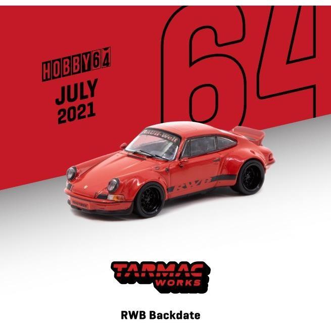 ターマックワークス 1/64 RWB ポルシェ Backdate レッド 完成品ミニカー T64-046-RE