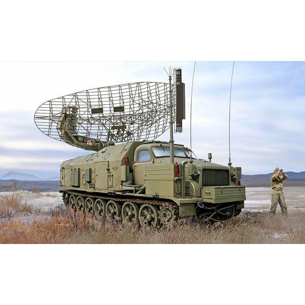 【10月予約】トランペッター 1/35 ソビエト軍 P-40/1S12 対空レーダー車 スケールモデル 09569