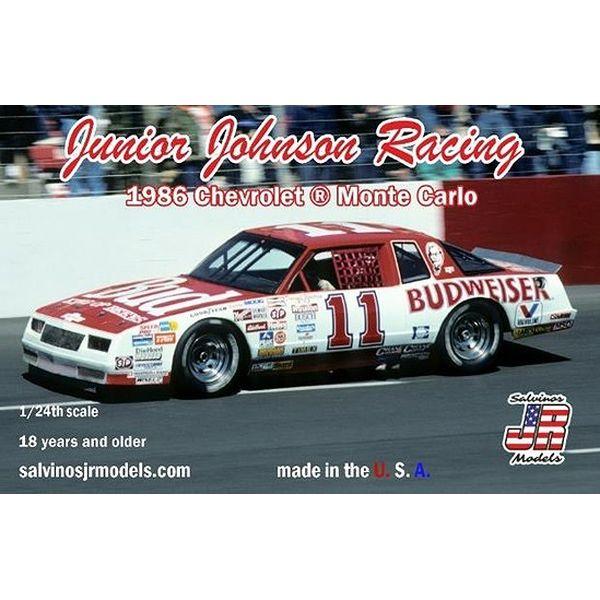 【8月予約】サルビノス J・R モデル 1/24 NASCAR '86 シボレー モンテカルロ ダレル・ワルトリップ J・Jレーシング スケールモデル SJMJJMC1986B