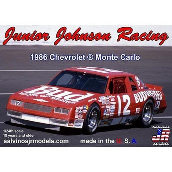 【8月予約】サルビノス J・R モデル 1/24 NASCAR '86 シボレー モンテカルロ ニール・ボネット ジュニア・ジョンソンレーシング スケールモデル SJMJJMC1986NB