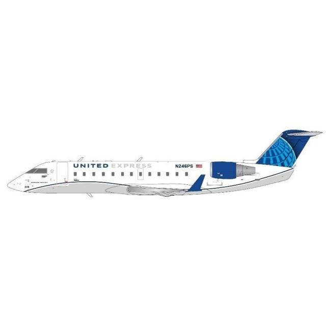 ジェミニ200 1/200 CRJ200LR ユナイテッドエクスプレス N246PS 完成品モデル G2UAL958