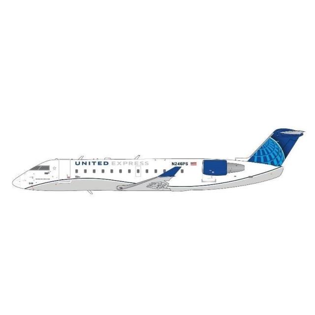 ジェミニジェット 1/400 CRJ200LR ユナイテッド エクスプレス N246PS 完成品モデル GJUAL1966