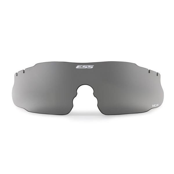 ESS ICE用 交換レンズ スモークグレイ ミリタリーグッズ E-A-740-0011