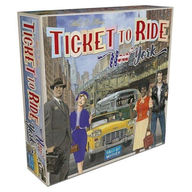 ホビージャパン チケット・トゥ・ライド:ニューヨーク【取寄対応】 ボードゲーム 0824968299609