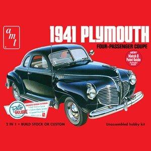 AMT 1/25 1941 プリムス・クーペ スケールモデル AMT919