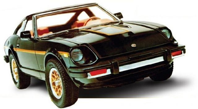 AMT 1/25 1980 ダットサン280 ZX ターボ スケールプラモデル AMT1043