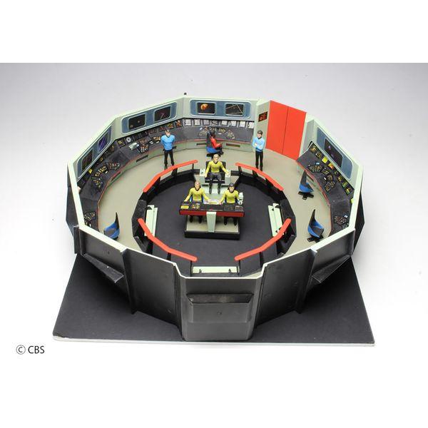 【7月予約】AMT 1/32 U.S.S.エンタープライズ ブリッジセット 「スタートレック:宇宙大作戦」より キャラクタープラモデル AMT1270