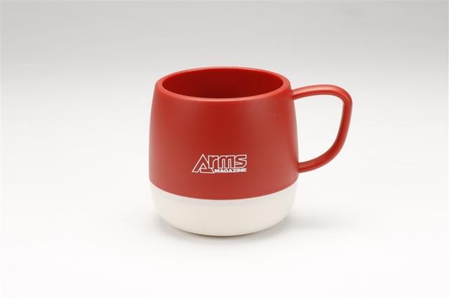 アームズマガジン アウトドアマグカップ レッド【同梱種別A】 ホビージャパン製品 AM2007