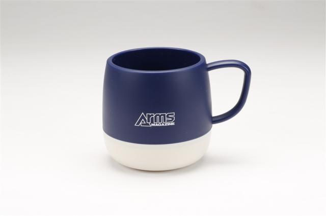アームズマガジン アウトドアマグカップ ブルー【同梱種別A】 ホビージャパン製品 AM2007