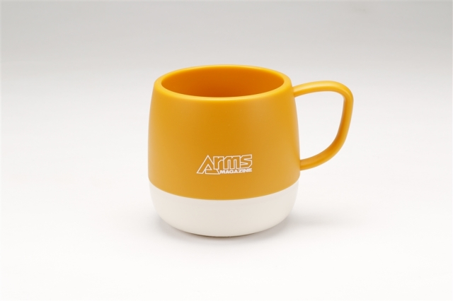 アームズマガジン アウトドアマグカップ イエロー【同梱種別A】 ホビージャパン製品 AM2007