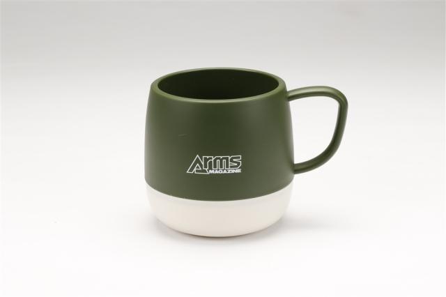 アームズマガジン アウトドアマグカップ グリーン【同梱種別A】 ホビージャパン製品 AM2007