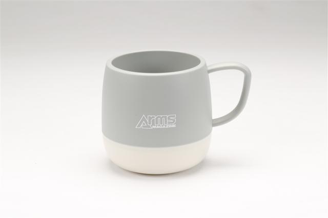 アームズマガジン アウトドアマグカップ グレー【同梱種別A】 ホビージャパン製品 AM2007