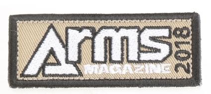 アームズマガジンオリジナルパッチ2018【同梱種別A】 ホビージャパン製品 AM2009