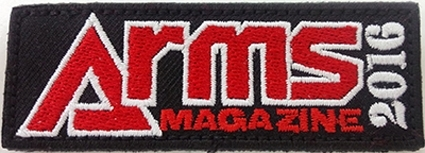 アームズマガジンオリジナルパッチ2016【同梱種別A】 ホビージャパン製品 AM2011