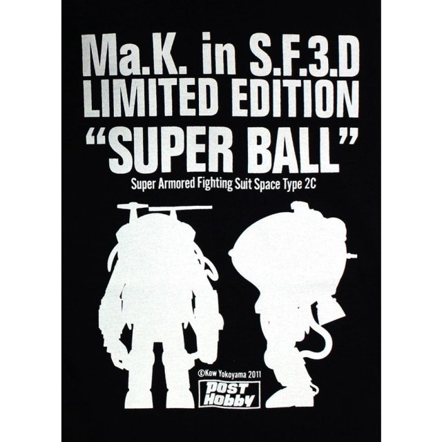 ホビージャパン Ma.k. in SF3D Tシャツ Sサイズ 「マシーネンクリーガー」より 104000013000