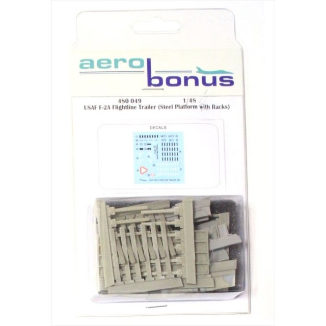 aero bonus  1/48 USAF F2Aラック付整備用スチールカート 模型用グッズ 480049