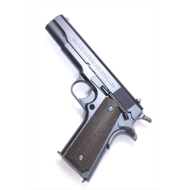 """六研/エラン ROCKEN/ELAN Famous Movie Gun Series """"""""DOC""""""""MODEL コルトM1911 ニュースタイル スライド マーキング DUOブローバック モデルガン"""