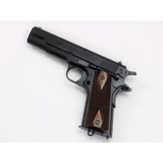六研/エラン コルト M1911 ミリタリー DUO ブラック モデルガン 109006043000