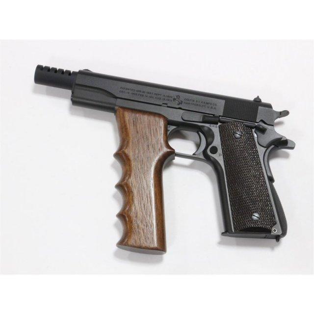 六研/エラン コルト M1911A1 MP ホワードグリップ付属 DUOブローバック モデルガン 109006102000