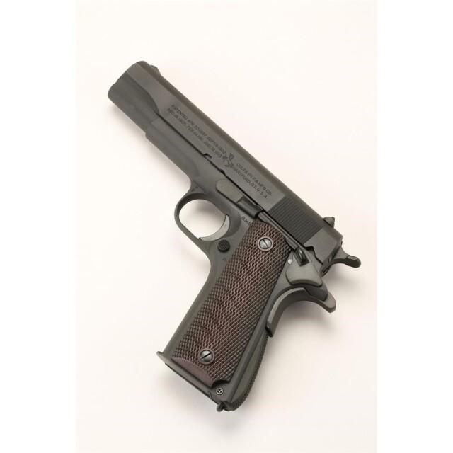 六研/エラン コルト M1911A1 GI コルト DUOブローバック モデルガン 109006149000