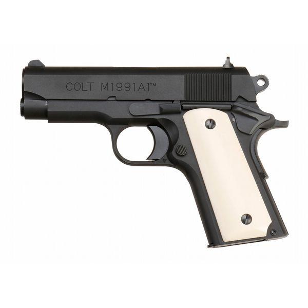 六研/エラン コルト M1991A1 コンパクト HEAT DUOブローバック 2021年版 モデルガン 109006181000