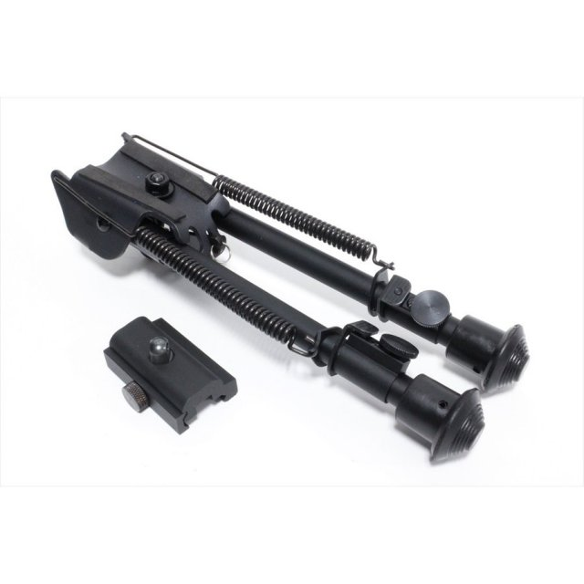 CB ハリスタイプバイポット/ロング ブラック トイガンパーツ KW-BP-011-BK