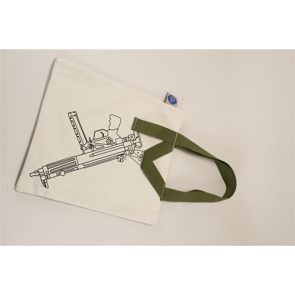 【5月予約】ワンポイントスリングデザイン キャンバストートバッグ/サブマシンガン【同梱種別A】
