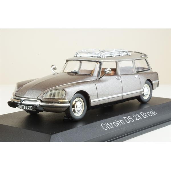 【1月予約】ノレブ 1/43 シトロエン DS 23 ブレーク 1974 スカラベブラウン 完成品ミニカー 155047