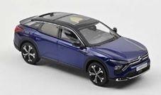 【10月予約】ノレブ 1/43 シトロエン C5X 2021 マグネットブルー 完成品ミニカー 155572