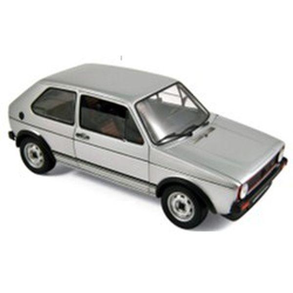 【1月予約】ノレブ 1/18 フォルクスワーゲン ゴルフ GTI 1976 シルバー 完成品ミニカー 188486