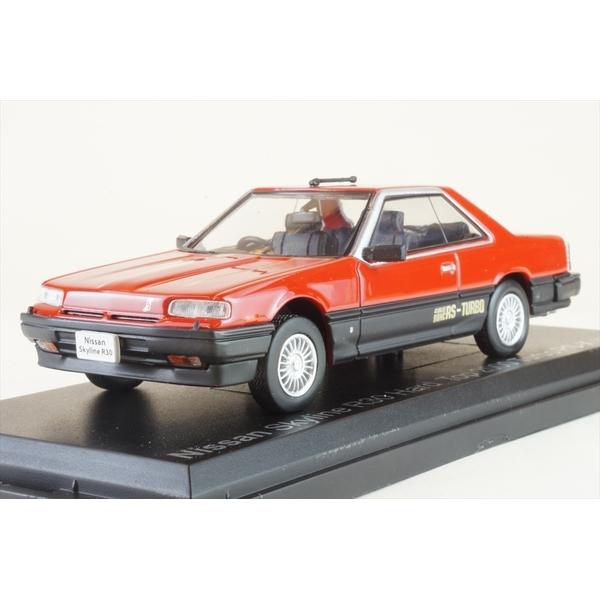 ノレブ J 1/43 ニッサン スカイライン R30 ハードトップ 2000RS 1983 レッド 完成品ミニカー 420182