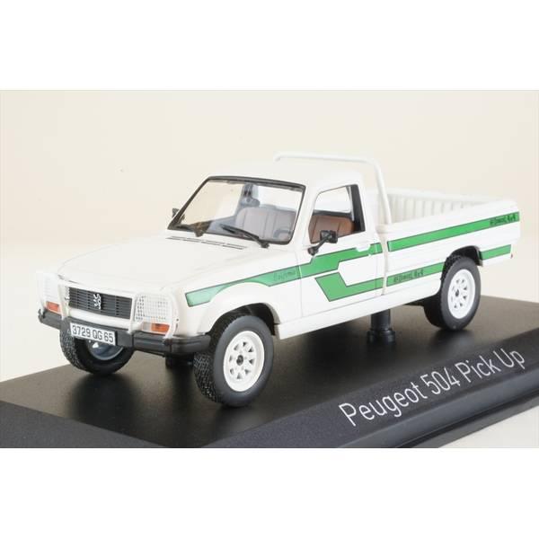 【2月予約】ノレブ 1/43 プジョー 504 ピックアップ 4x4 ダンジェル 1985 ホワイト 完成品ミニカー 475458