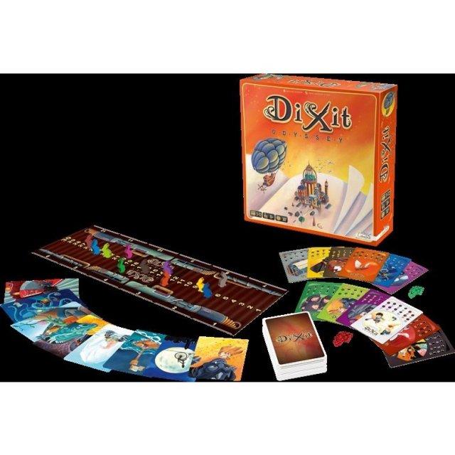 ホビージャパン ディクシット:オデッセイ 多言語版 ボードゲーム 3558380057802