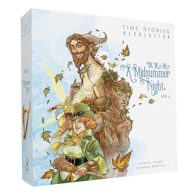 ホビージャパン TIMEストーリーズ レボリューション:真夏の夜の 日本語版 アナログゲーム 3558380070078