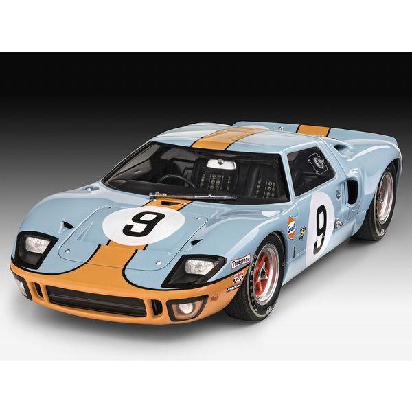 【11月予約】ドイツレベル 1/24 フォード GT40 ル・マン24時間1968 (リミテッド エディション) スケールモデル 07696