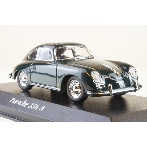 マキシチャンプス 1/43 ポルシェ 356 A クーペ 1959 グリーン 完成品ミニカー 940064220