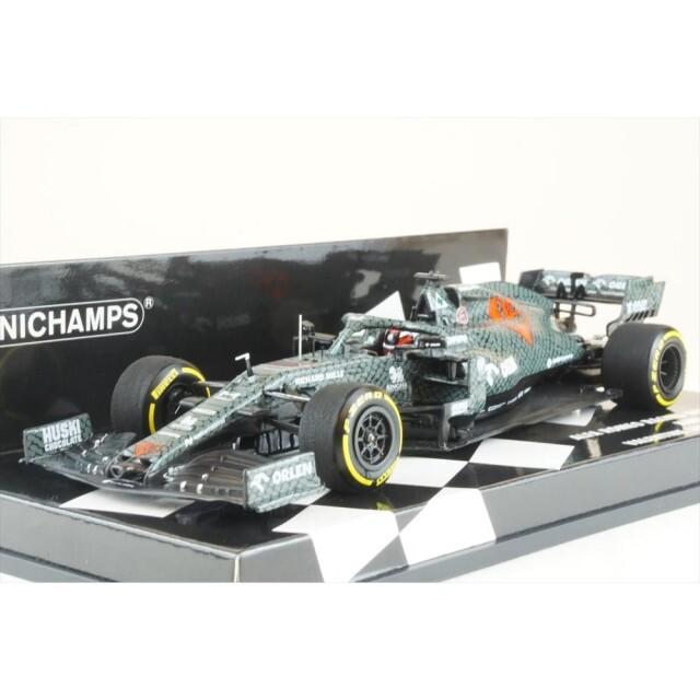 ミニチャンプス 1/43 アルファロメオ レーシング F1 C39 バレンタインデー仕様 2020 シェイクダウン K.ライコネン 完成品ミニカー 417209907