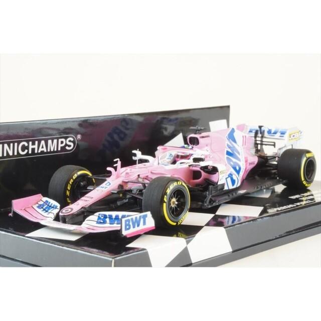 ミニチャンプス 1/43 BWT レーシング ポイント F1 チーム メルセデス RP20 ローンチ・スペック 2020 F1 S.ペレス 完成品ミニカー 417200011