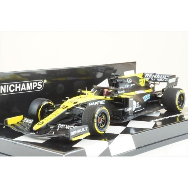 ミニチャンプス 1/43 ルノー DP ワールド F1 チーム R.S.20 ローンチ・エディション 2020シーズン F1 E.オコン 完成品ミニカー 417200031