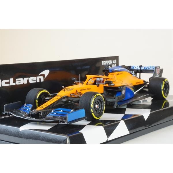 ミニチャンプス 1/43 マクラーレン ルノー MCL35 No.55 2020 F1 オーストリアGP C.サインツJr. 完成品ミニカー 537204455