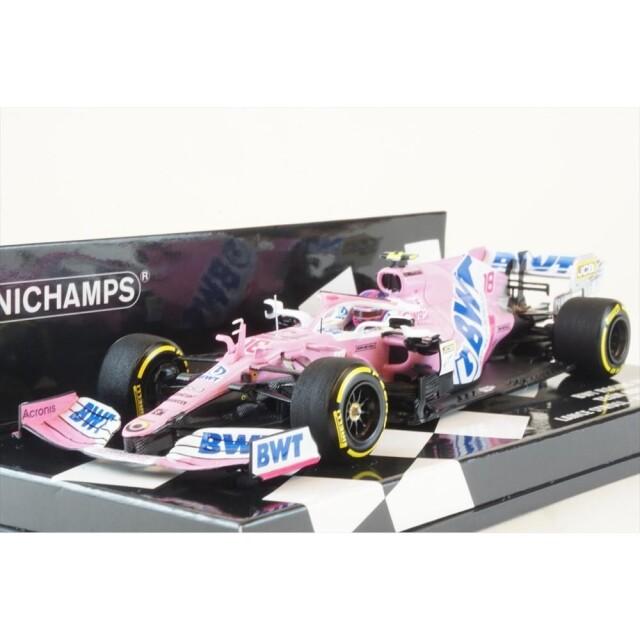 ミニチャンプス 1/43 BWT レーシングポイント F1 メルセデス RP20 No.18 2020 F1 オーストリアGP L.ストロール 完成品ミニカー 417200118