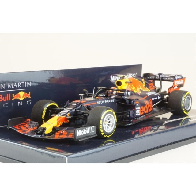 ミニチャンプス 1/43 アストンマーチン レッドブルレーシング RB16 No.23 2020 F1 シュタイアーマルクGP 4位 A.アルボン 完成品ミニカー 410200223