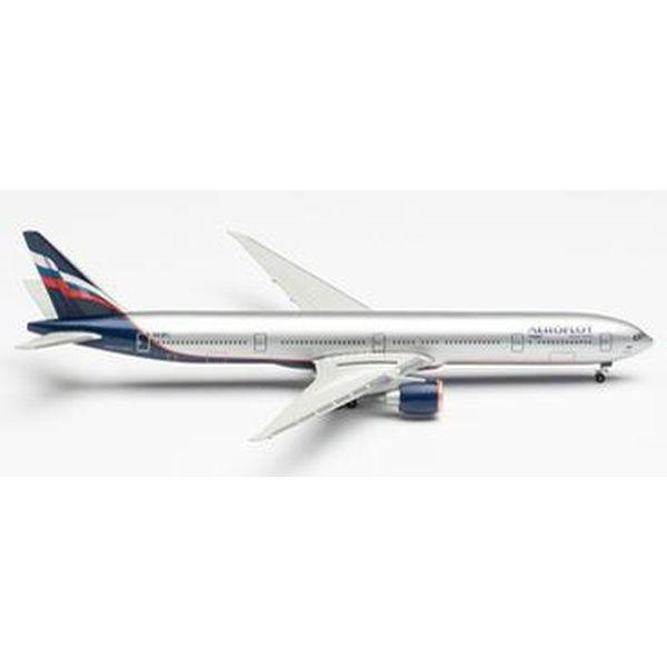 """【7月予約】ヘルパウイングス 1/500 777-300ER アエロフロート航空 VQ-BFL """"K.Balmont"""" 完成品モデル HE526364-002"""