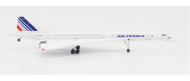 【3月予約】ヘルパウイングス 1/500 コンコルド エールフランス F-BVFB 完成品モデル HE532839-001